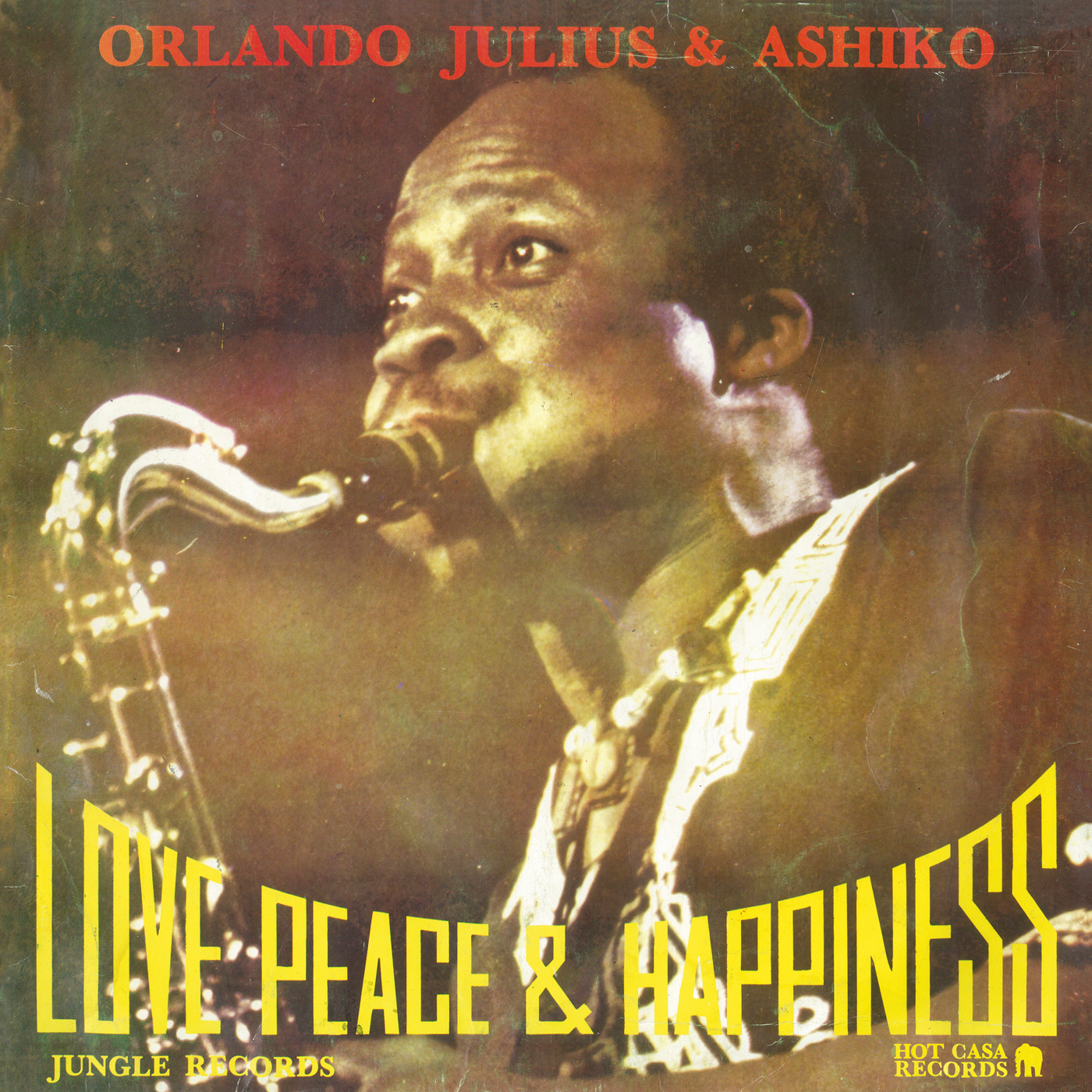 ORLANDO JULIUS & ASHIKO : Love Peace & Happiness