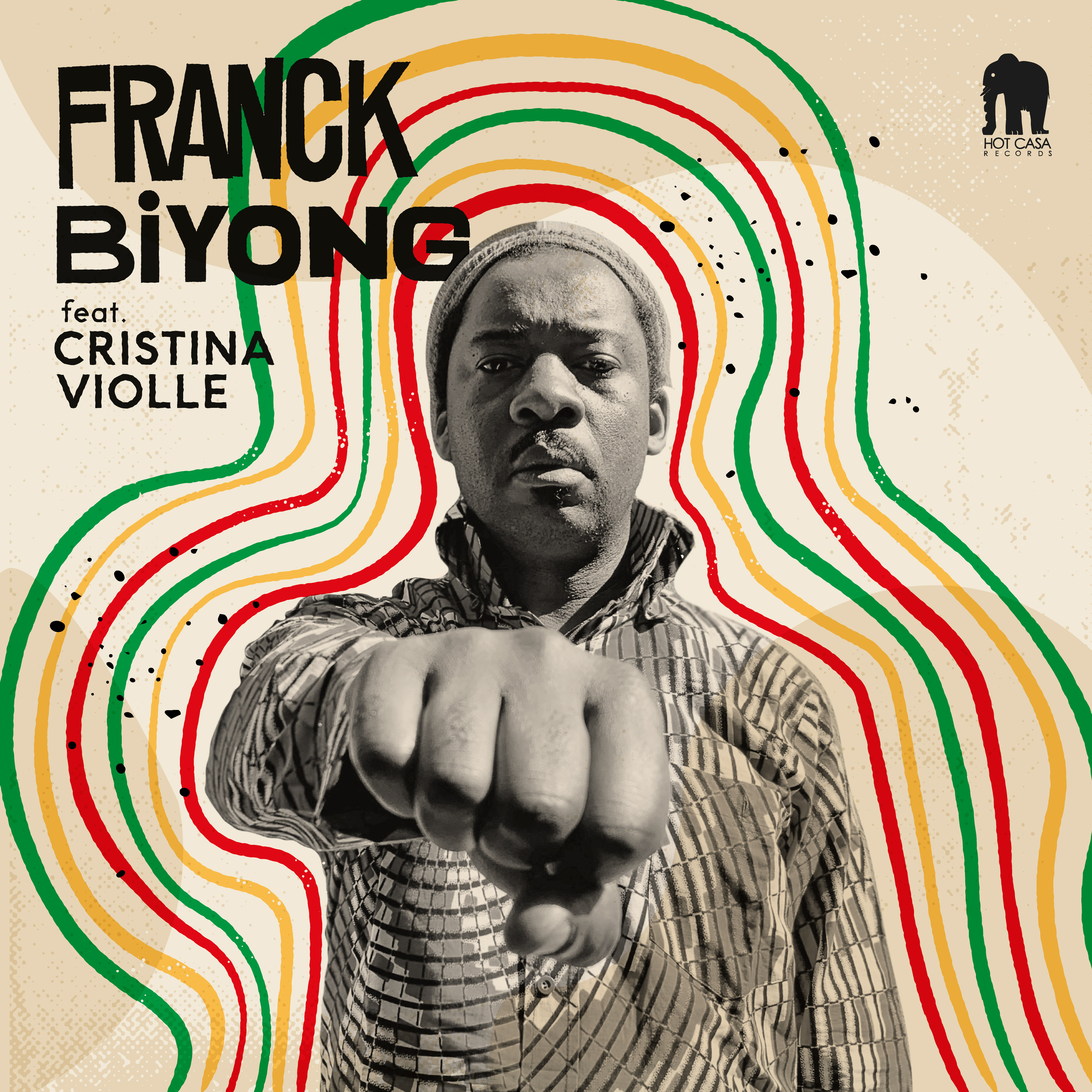 Franck Biyong Featuring Cristina Violle « Trouble »12 inch EP